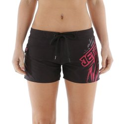 画像1: JETPILOT VORTEX S14 LADIES RIDESHORT BLACK/PINK