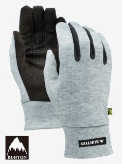 画像1: BURTON Touch N Go Glove Heathered Grey